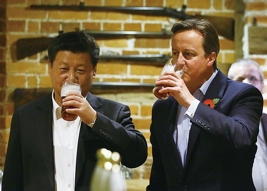 曾推動中英黃金時代 英前首相因游說被調查