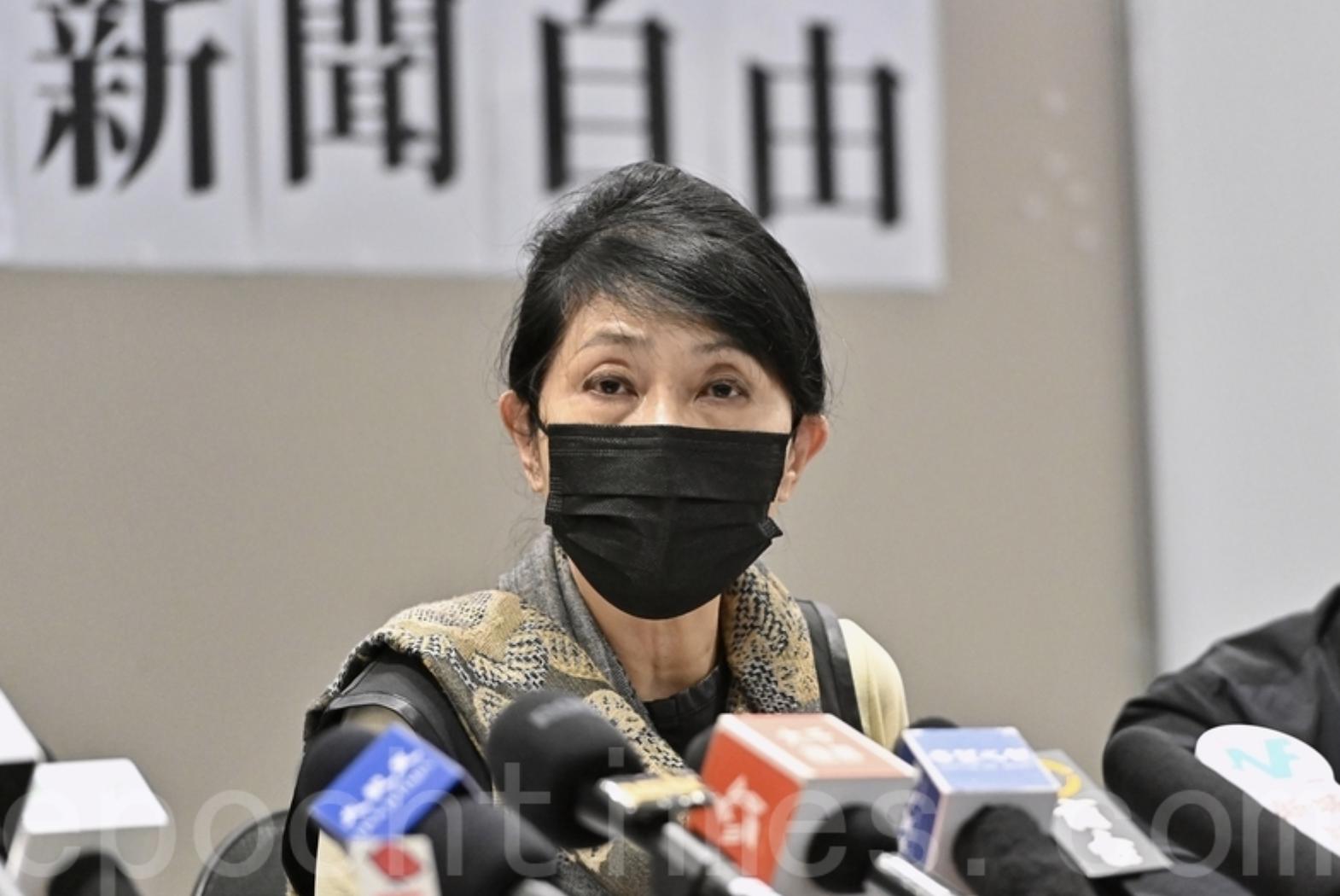 毛孟靜向高院申保釋被拒。資料圖片。(宋碧龍/大紀元)