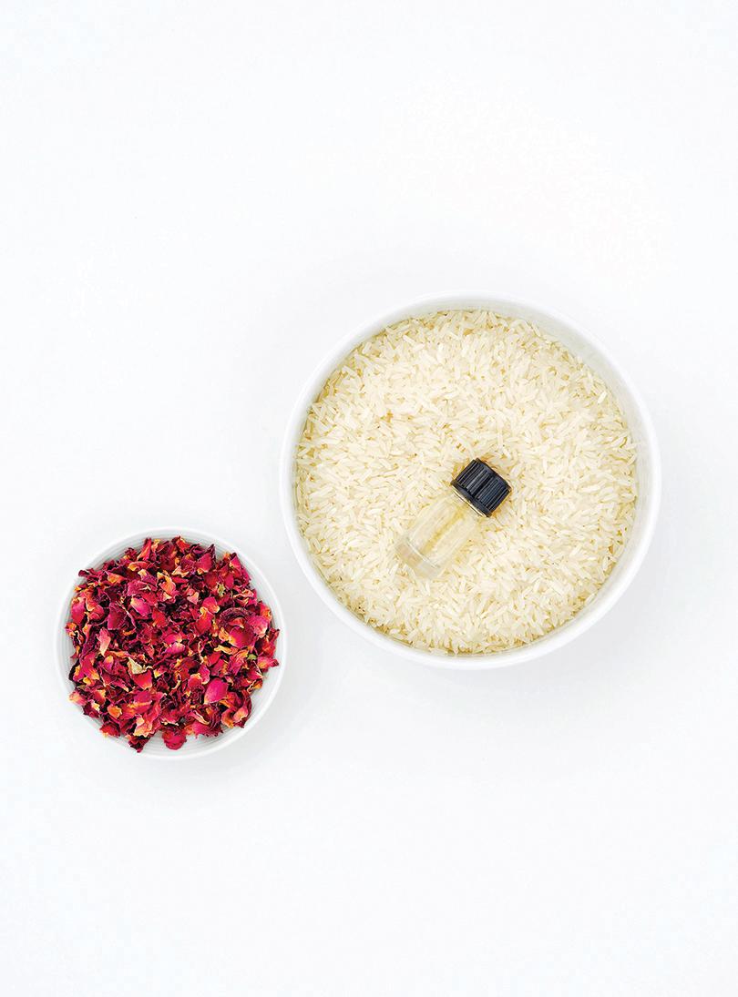 為生活加馨香 白米做成香氛袋