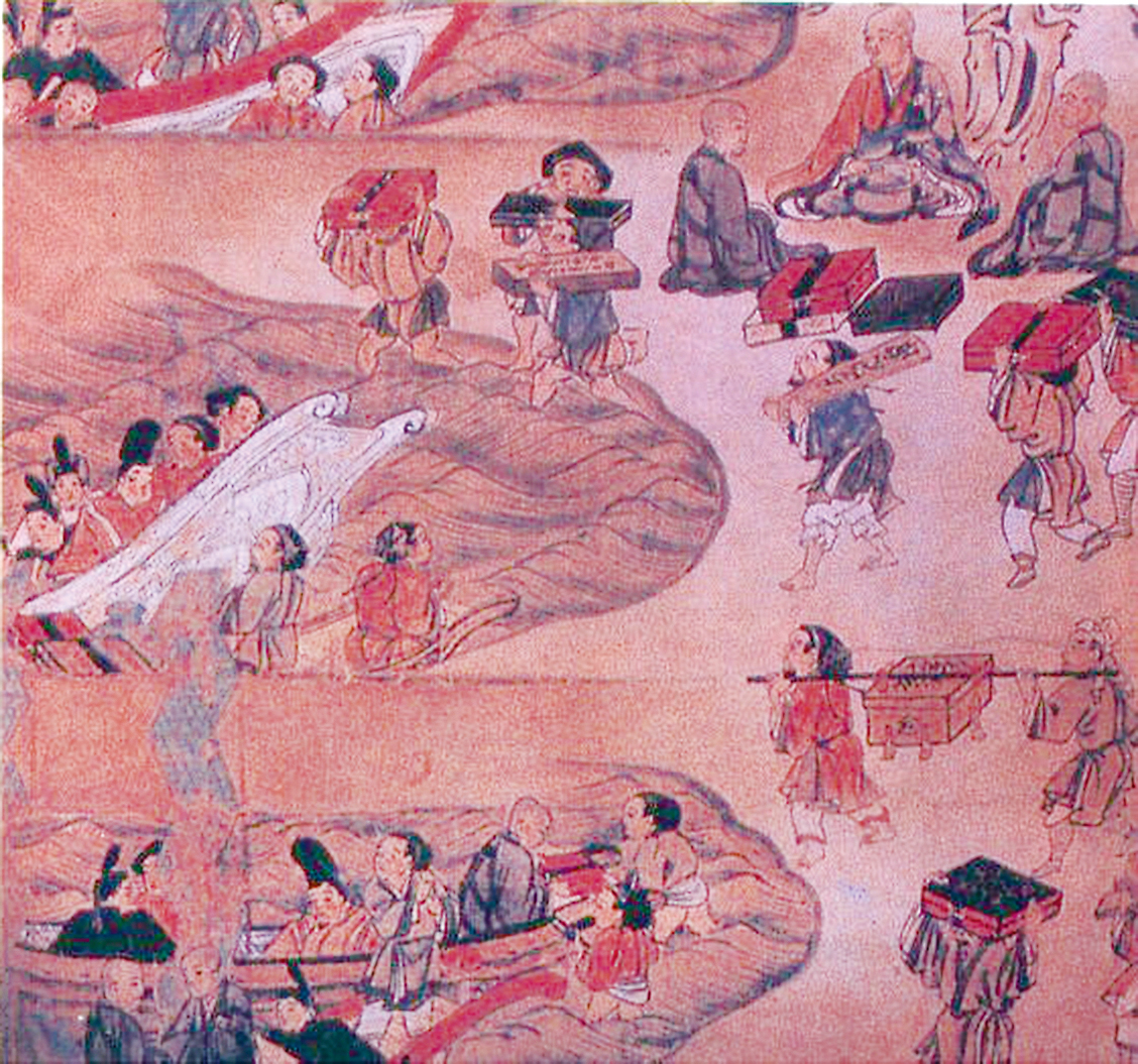 鑒真第六次東渡圖(公共領域)