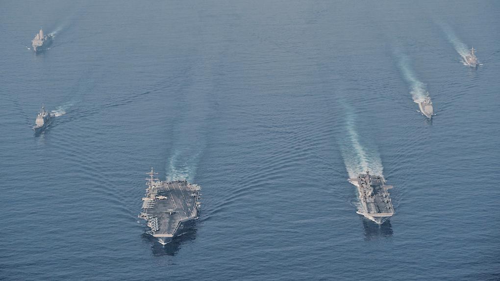 專家:遼寧號演練草草收場 被美艦逼向北返