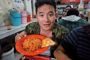英廚師吃印尼「死亡麵條」 失聰2分鐘