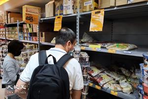 兩大超市貨品售價平均升1.9% 罐頭升幅近兩成