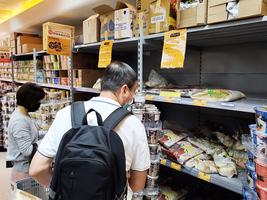 兩大超市貨品售價平均升1.9%