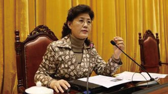 前中共中央黨校教授蔡霞。(影片截圖)