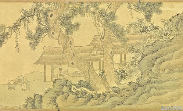 茶文化入了明代,也進入精備的境地。圖為唐寅《煮茶圖》(台北故宮博物院提供)