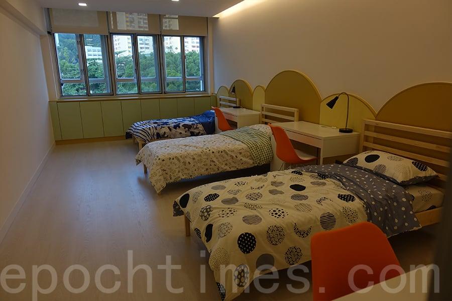 樂陶軒為中一學生在校內提供短期的住宿體驗。 (鄺嘉仕提供)