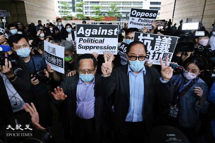 831非法集結案  黎智英判囚8個月 李卓人囚半年 楊森8個月緩刑1年