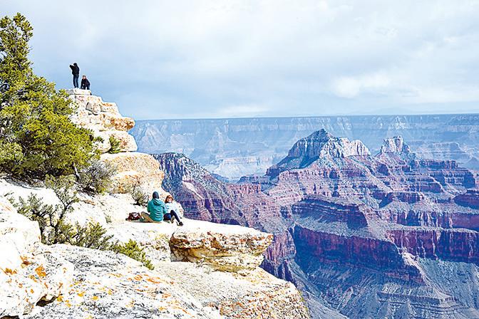 大峽谷由於過度開發而瀕臨滅絕。(AFP)
