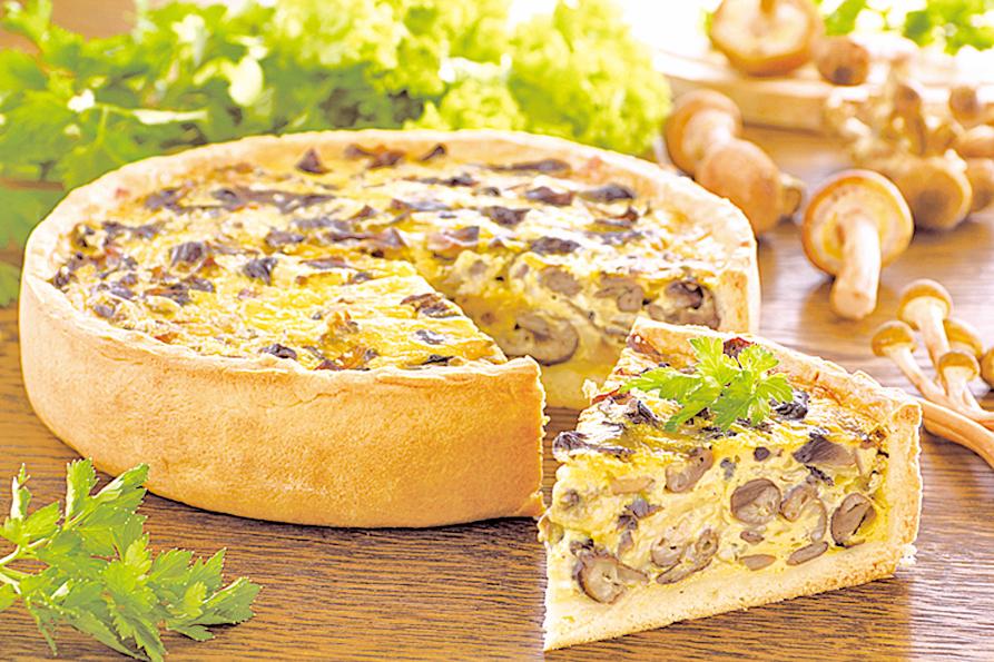 蘑菇作為派餅餡料,成功率極高。