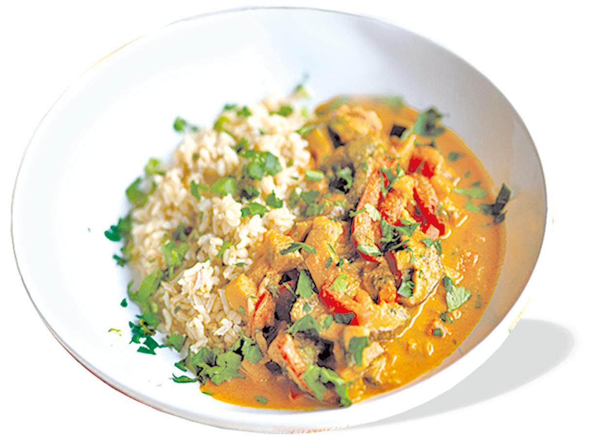 印度蘑菇咖哩是一道印度家常美食。