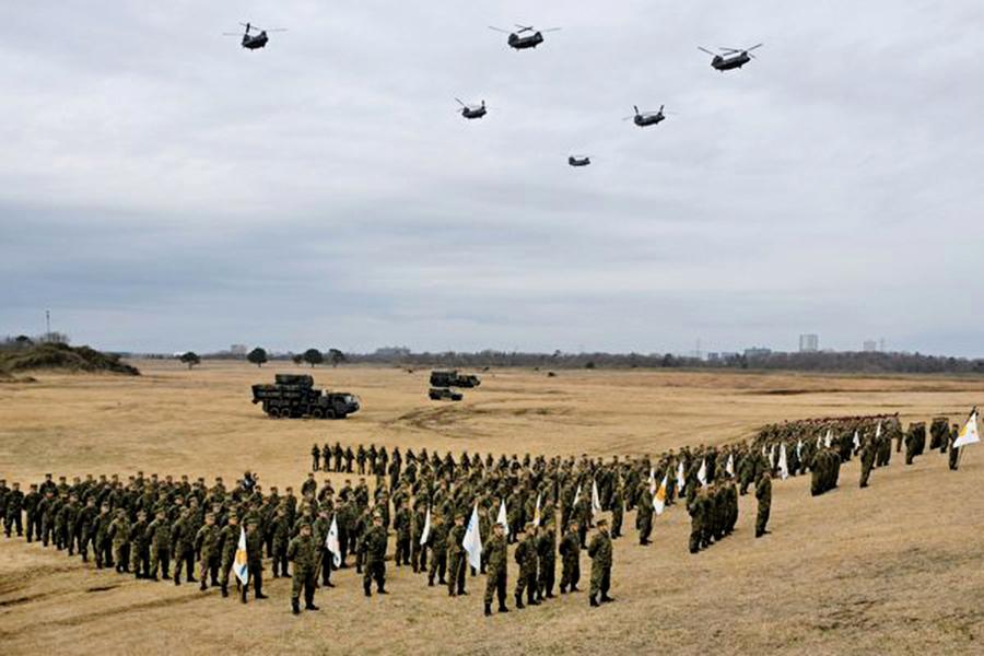 日美法陸軍將舉行大規模演習