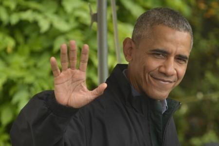 奧巴馬將於9月2日至9日訪問中國和老撾,出席杭州20國集團(G20)峰會、美國-東盟領導人峰會以及東亞峰會。(Mike Theiler-Pool/Getty Images)
