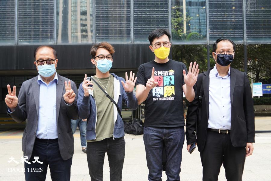 10.1遊行案區院預審 楊森:堅持基本權利不放棄