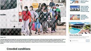 侯斯頓一難民庇護所突然關閉 數百少女被撤離