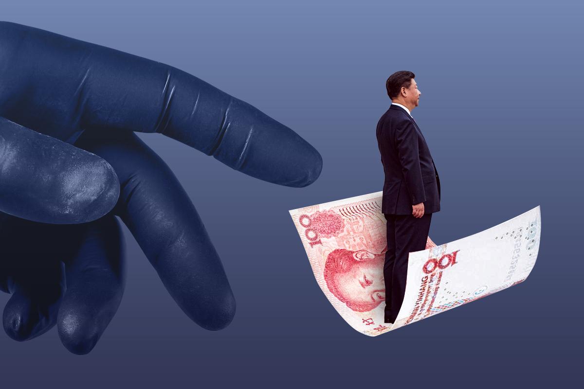 中國一季度GDP同比增長18.3%,經濟增長真的這麼強勁嗎?其實它不僅低於預期,環比增長更是倒數!這18.3%背後可是一個糟心的賬本!(大紀元製圖)