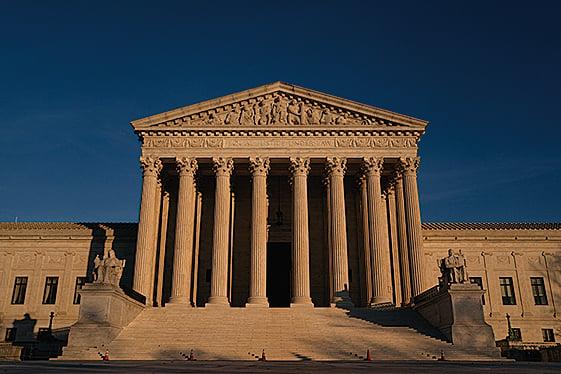 位於華府的最高法院。 (Getty Images)