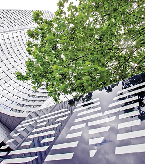 IBM在法國的總部。(Getty Images)