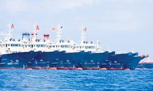 揭秘中共海上神秘「部隊」 以漁船做幌子在多個海域進行「低強度對抗」