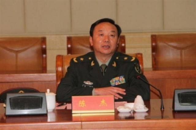 據港媒報道,中共軍方第42集團軍政委陳傑少將於8月5日自殺身亡。(網絡圖片)