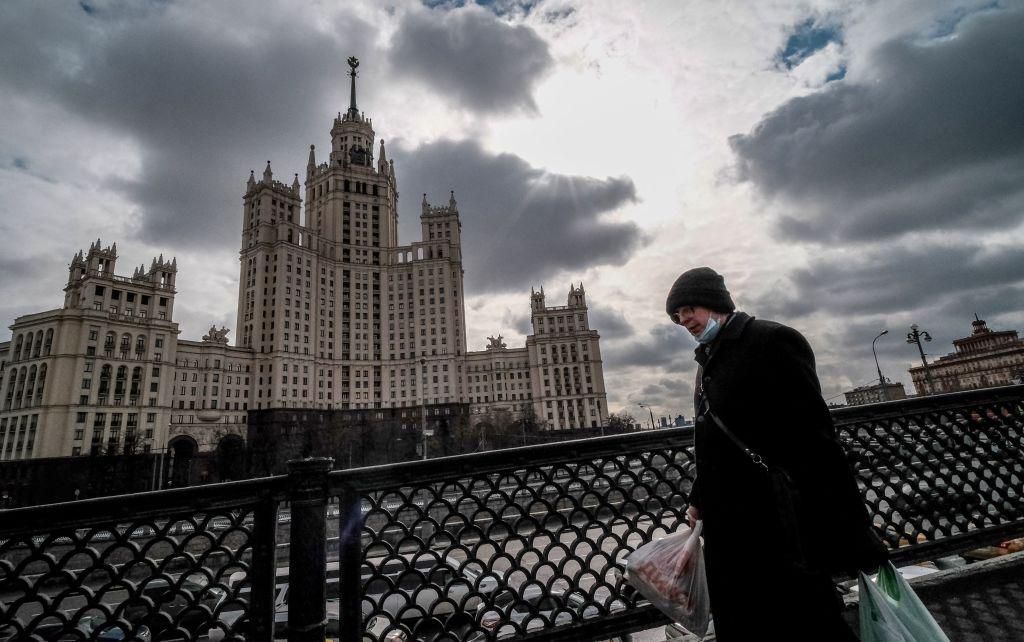 俄羅斯於當地時間4月20日公佈3月GDP按年上升0.5%與失業率為5.4%。(YURI KADOBNOV/AFP via Getty Images)