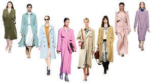2021春夏風衣時尚 六大色彩新潮有型