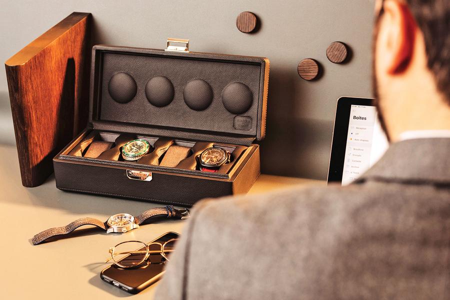 風格獨具收藏盒 襯托珍貴腕錶魅力