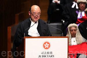 馬道立:設國安法指定法官奇怪 應由司法機構決定