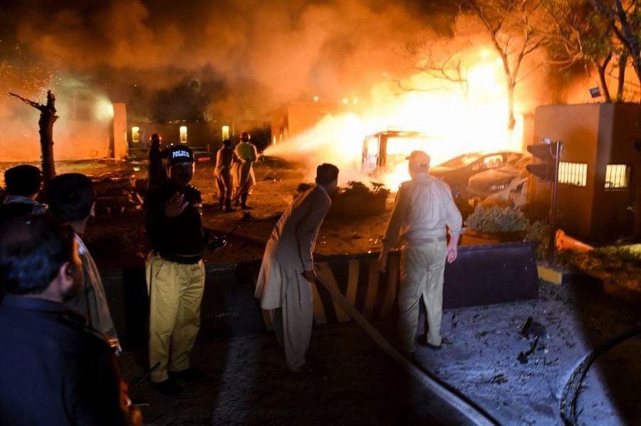 針對中共大使?巴基斯坦爆炸案四死十二傷