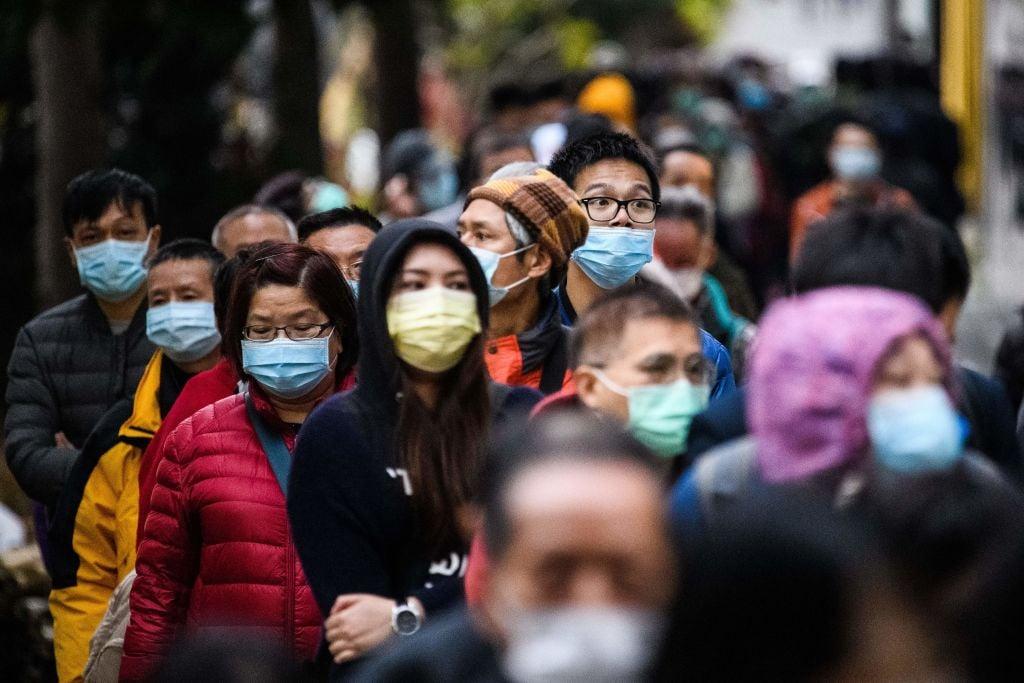 香港昨(4月22日)公佈3月失業率為6.8%,按月下降0.4個百分點。(ANTHONY WALLACE/AFP via Getty Images)