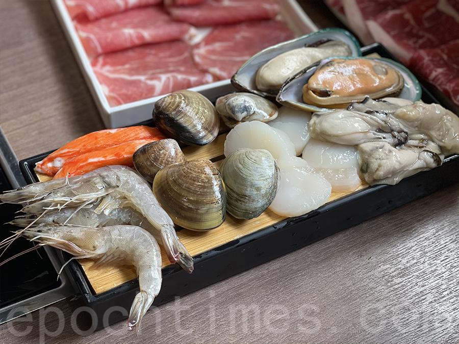 多款海鮮包括蜆、帶子、生蠔、青口⋯⋯(Siu Shan提供)