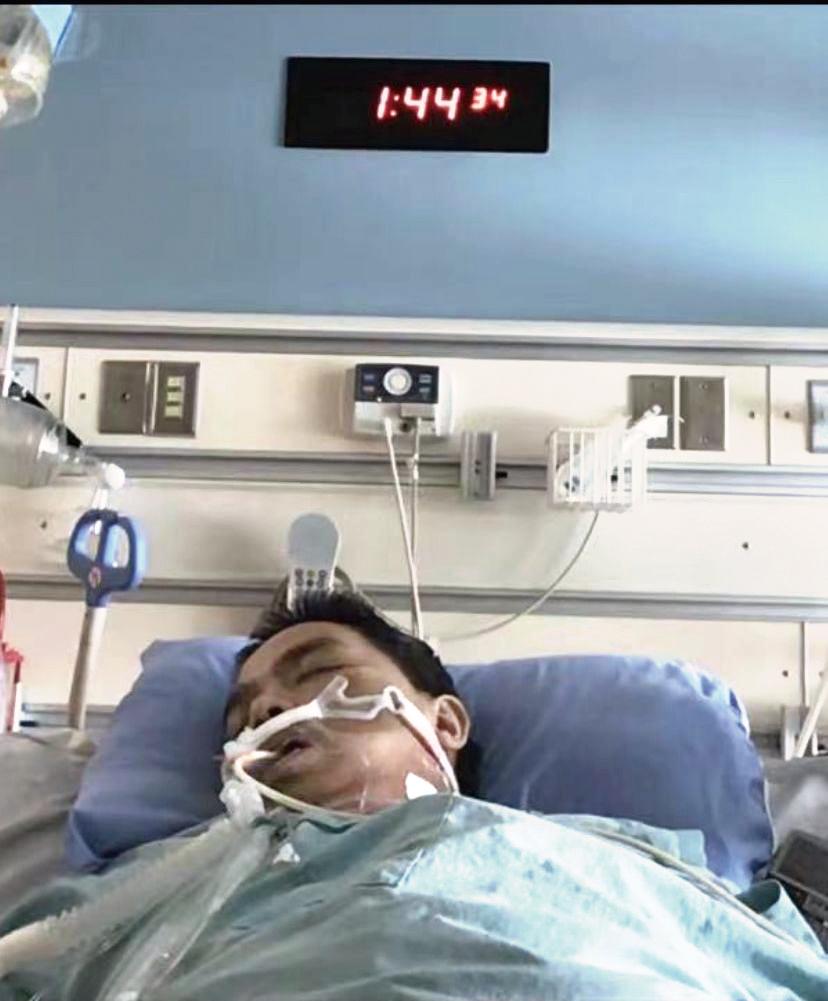 加華人感染 B.1.1.7幸運康復