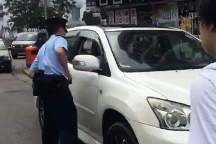 【立會選舉-新界西】朱凱廸遭可疑車輛跟蹤