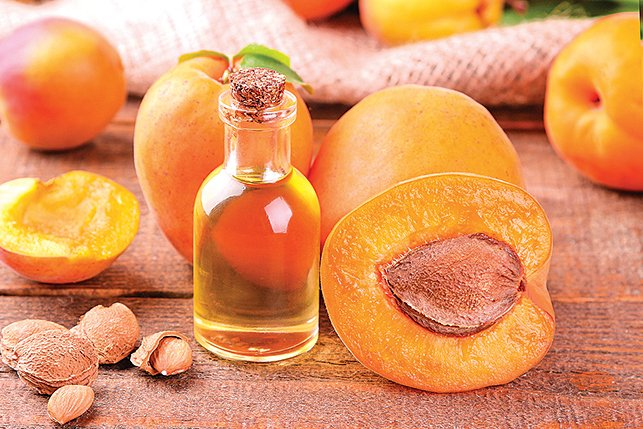 水蜜桃籽油可修復皮膚。