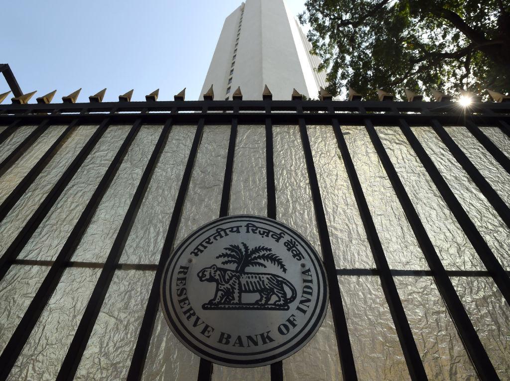 印度昨(4月23日)公佈外匯儲備按周增加0.21%至5,824億美元。(PUNIT PARANJPE/AFP via Getty Images)