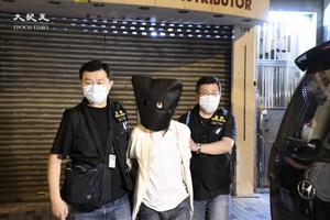 警方搗破深水埗釣魚機賭檔 拘捕12人
