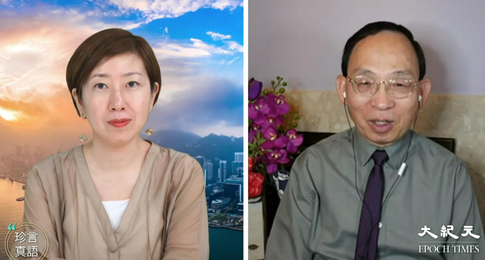 何良懋接受大紀元《珍言真語》節目採訪時表示,「鬥」是共產黨的典型做法,中共打算要鬥垮香港傳統秩序。(珍言真語提供)