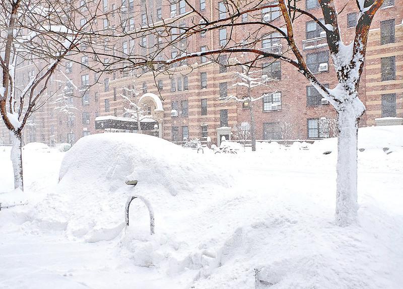 美東遭「大雪怪」侵襲至少17死