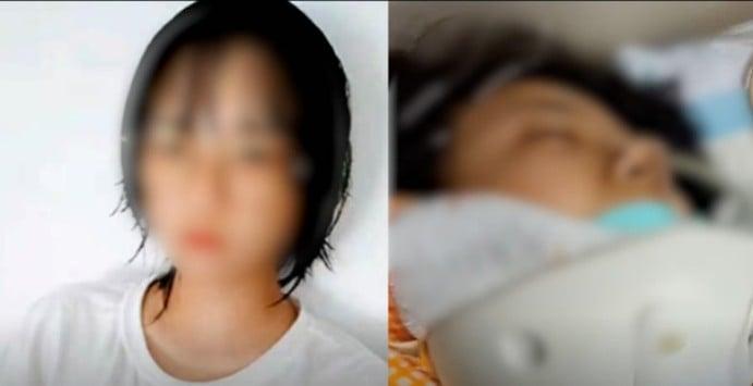 近年來,大陸學生自殺悲劇不斷發生,3月23日,重慶15嵗女孩墜樓身亡。(網頁截圖)