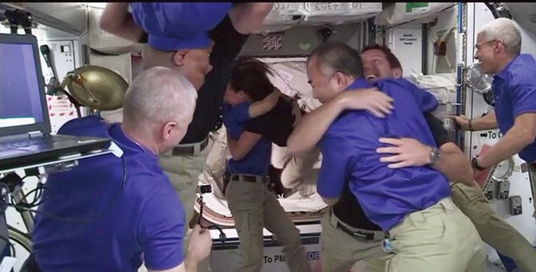 SpaceX成功的將4名太空人送上國際太空站。(Getty Images)