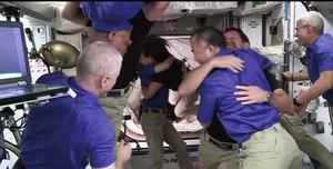 SpaceX成功的將太空人送抵國際太空站