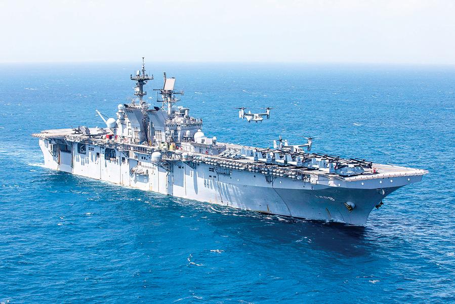 美國海軍的兩棲攻擊戰鬥群