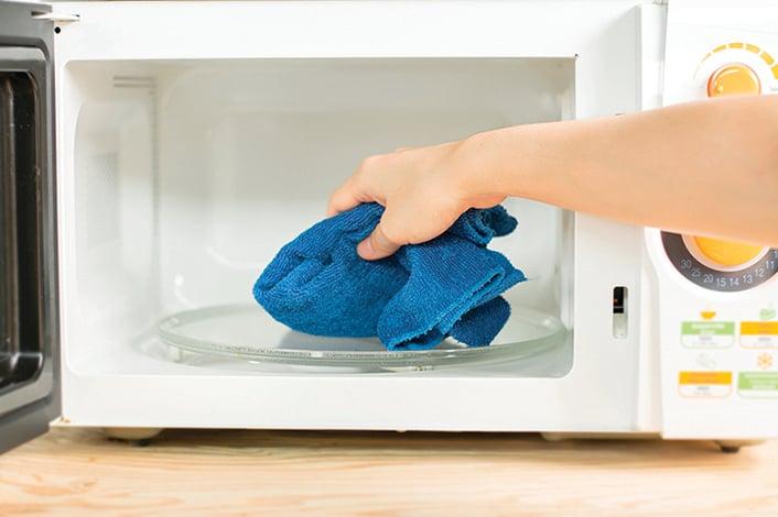 清潔微波爐有妙法 簡單步驟內外都乾淨