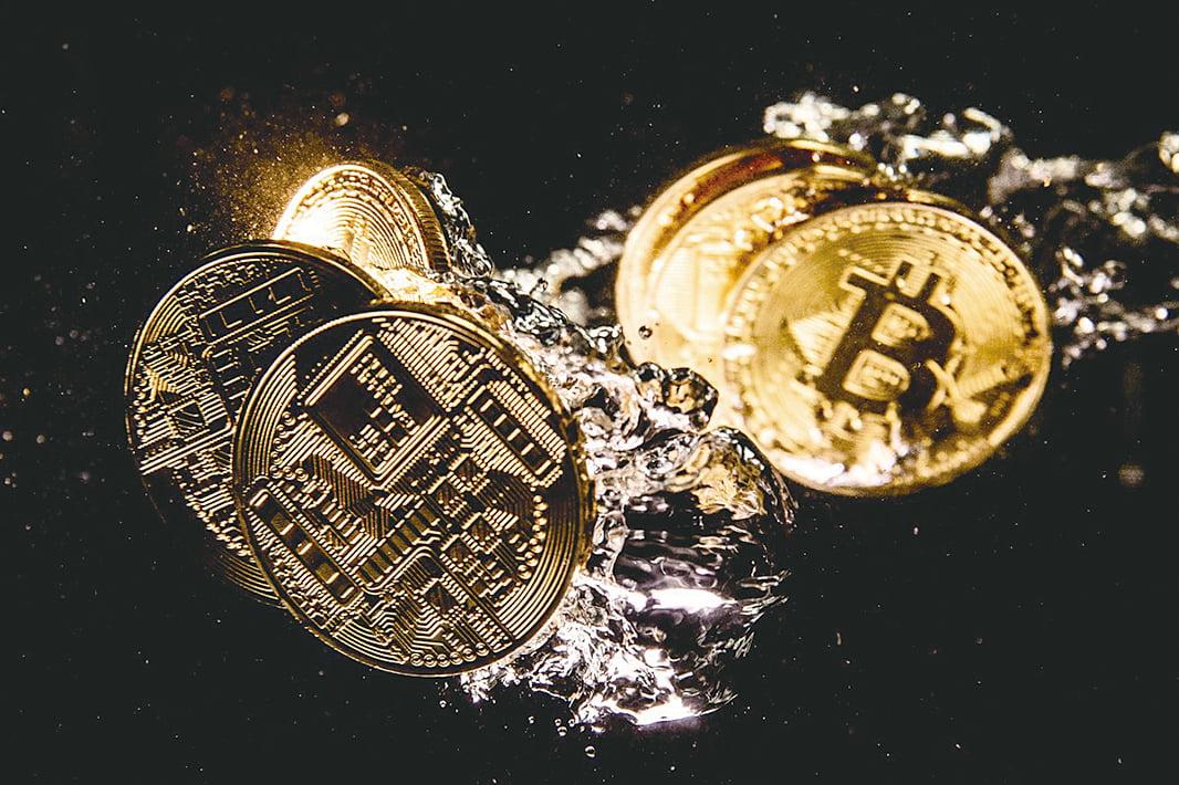 因比特幣等加密貨幣具有匿名性,受到了犯罪集團的青睞。(Dan Kitwood/Getty Images)