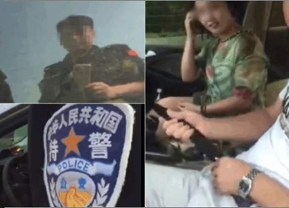 河北館陶縣巡特警大隊警察偷拍車震。(網絡圖片)