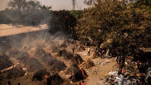 印度總理莫迪叔母染疫去世 富豪精英逃離印度【影片】