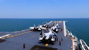 遼寧號航母戰鬥群成頭號標靶 高清圖曝光