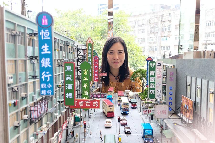 觀塘裕民坊微型藝術展 市民憶往昔