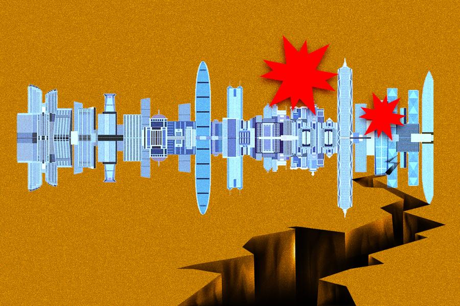深圳雙重「大地震」 出大事的前奏?