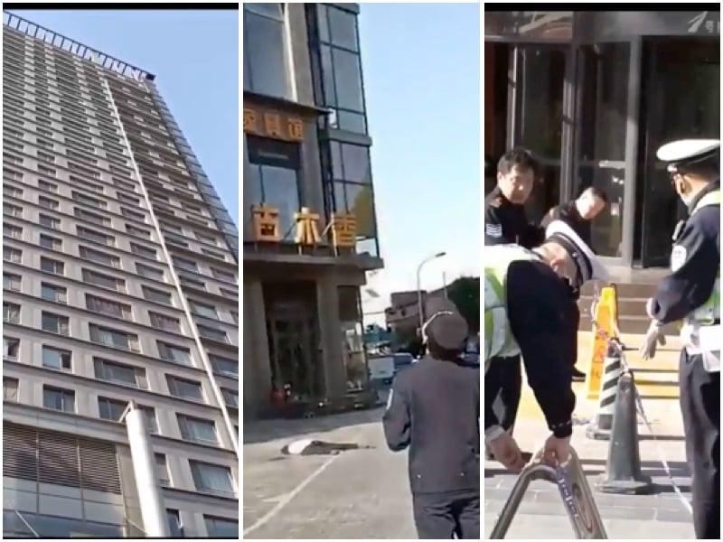 【一線採訪】天津和平公安分局主任跳樓身亡 官方噤聲